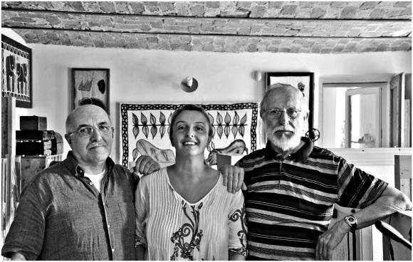 Carlo Alberto Sitta, Elio Grasso e Fosca Massucco - estate 2015