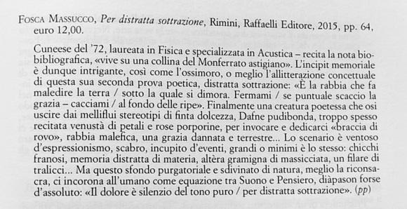 Plinio Perilli - nota a Per Distratta Sottrazione