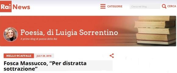Fosca Massucco Luigia Sorrentino